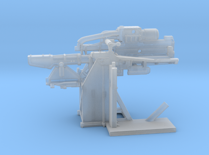 1/96 USN 5 inch Loading Machine Starboard 3d printed