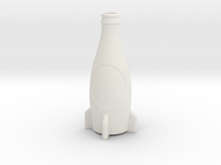 Fallout 4 Inspired Nuka-Cola Accurate Model 3d printed
