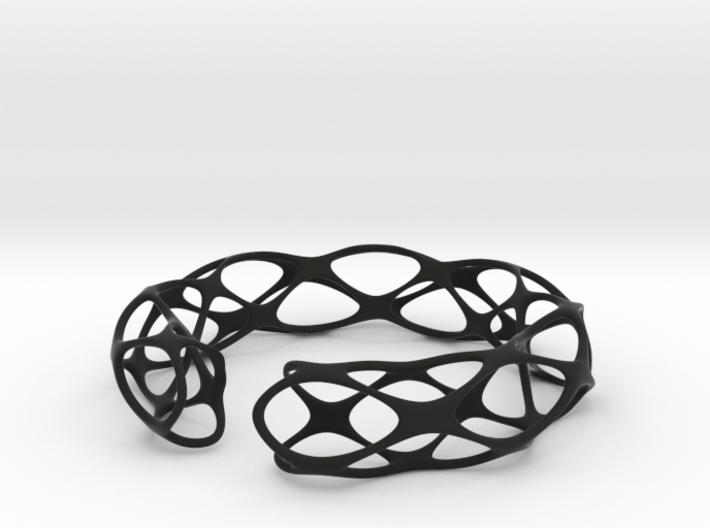 Bracelet voronoi 3d printed