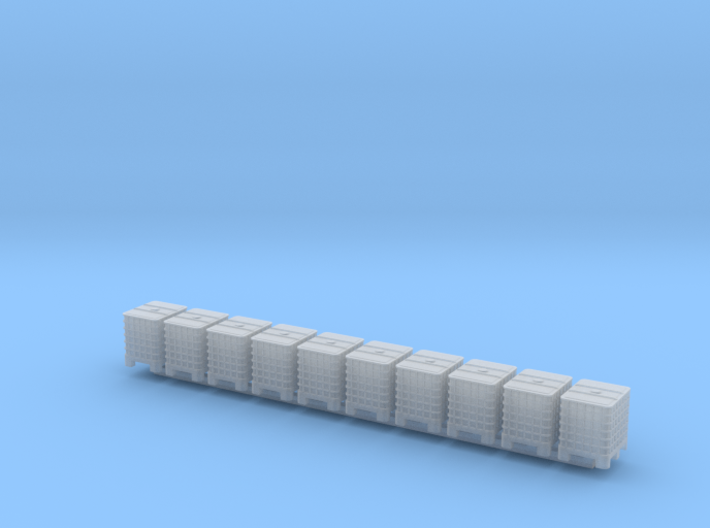 N scale 1000 litre IBC 10pc 3d printed