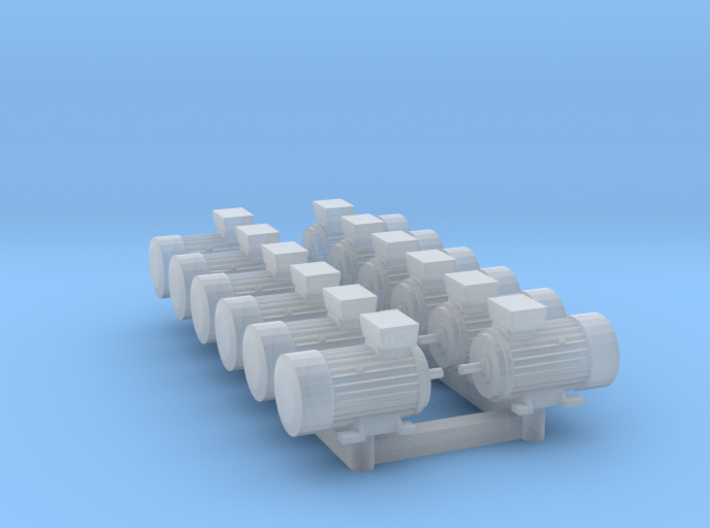 Electric Motor Size 1 (12pc) 3d printed