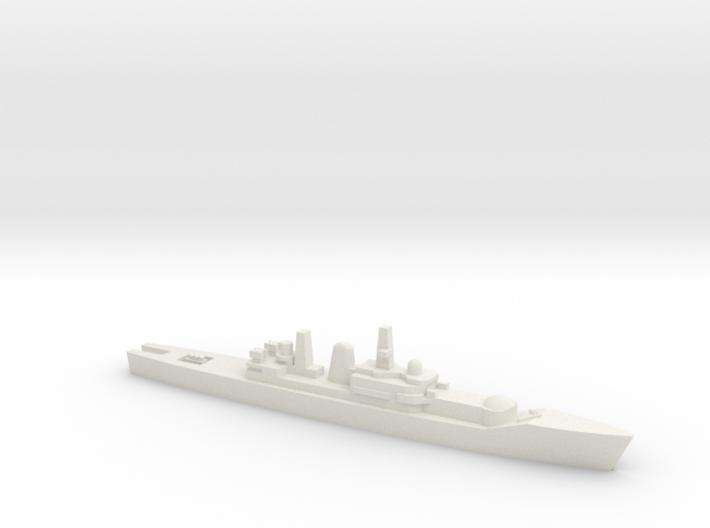 Leander-class frigate w/ Ikara, 1/1800 3d printed