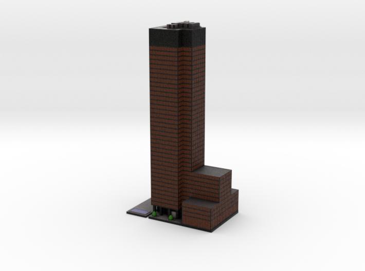 Seagram Building (6x4) 3d printed