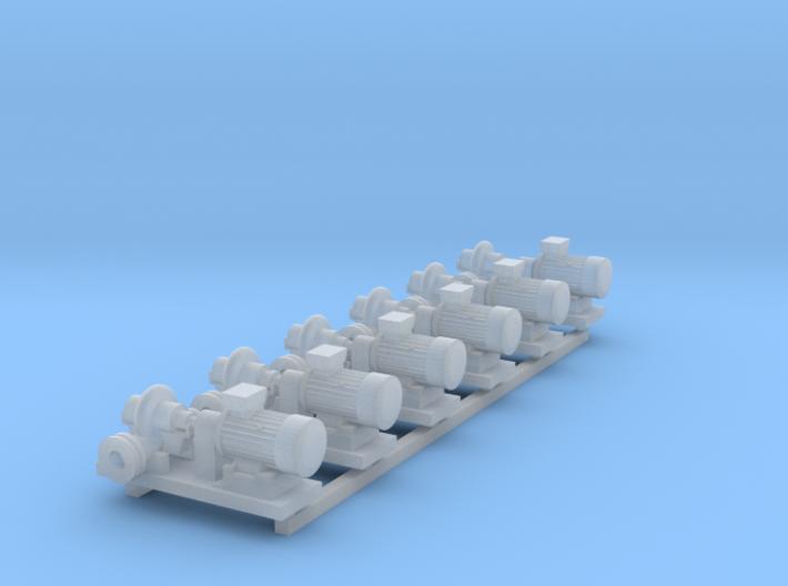 Centrifugal Pump #1 (Size 2 6pc) 3d printed