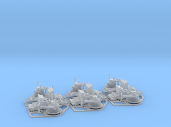 Polyphemus Nordenfelt 4-Barreled x 6 1/64 3d printed