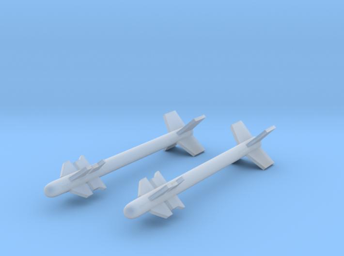 V3C Darter Air-to-Air Missile 3d printed V3C Darter (1/72)