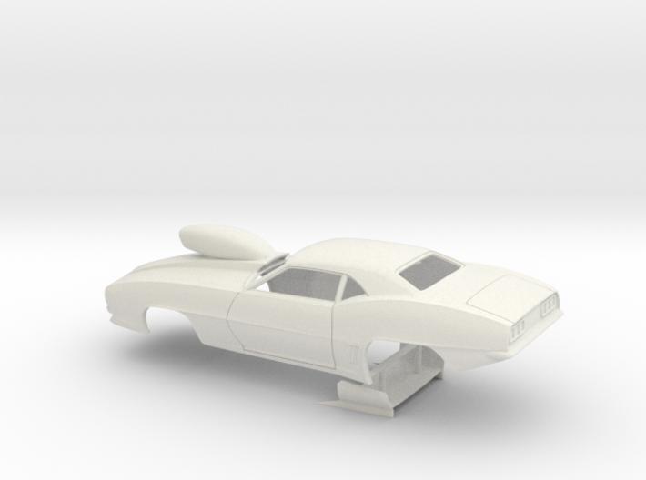 1/8 Pro Mod 69 Camaro W Scoop 3d printed