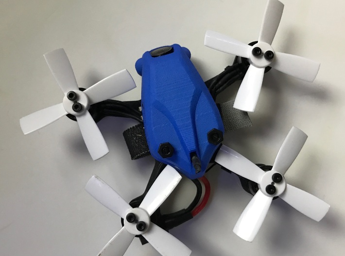 """Atom83 Canopy for 2"""" Prop 3d printed"""