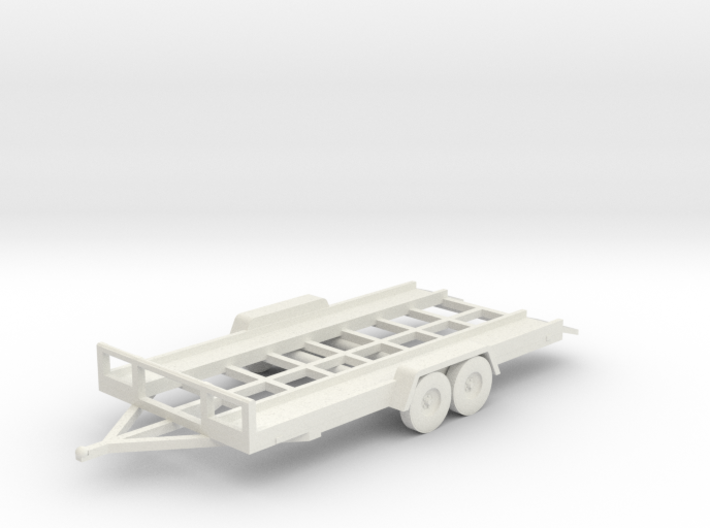 Car Trailer HO Scale 3d printed