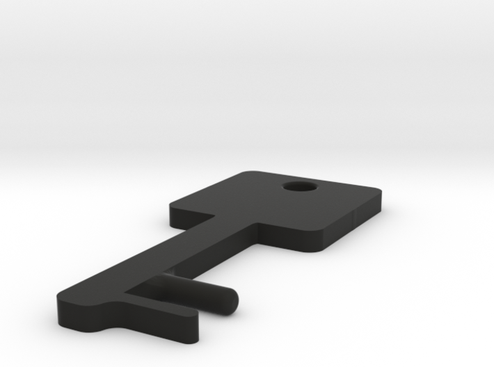 Square Key Shaped SmartPhone Stand 3d printed