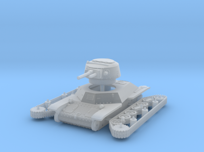 1/144 Type 2 Ke-To light tank 3d printed