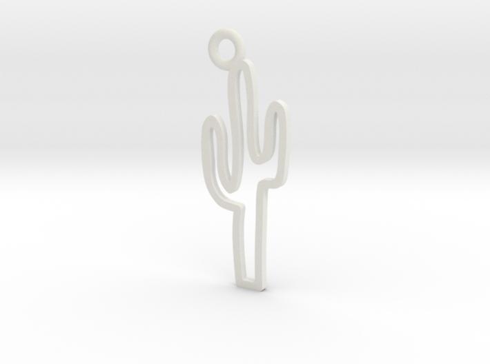 Cactus Charm! 3d printed