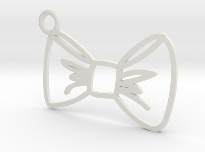Bow Charm! 3d printed