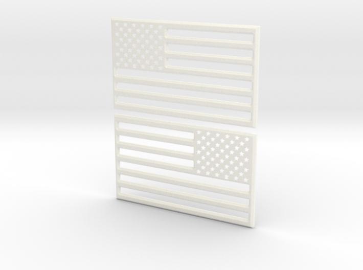 American Flag 3D Print STL V2 3d printed