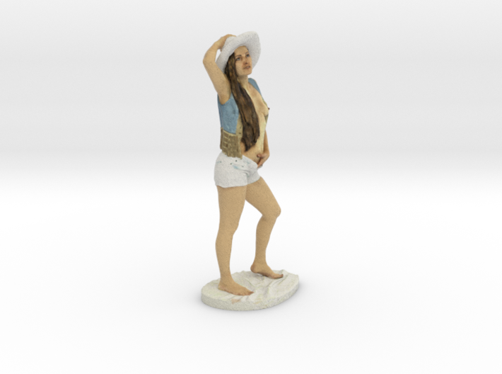 Cowgirl 3d printed