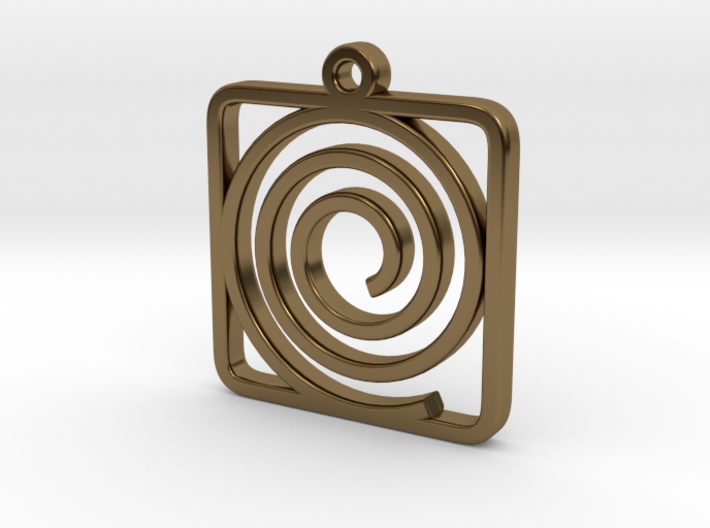 Wiccan - Life Pattern Charm 3d printed Wiccan - Life Pattern Charm