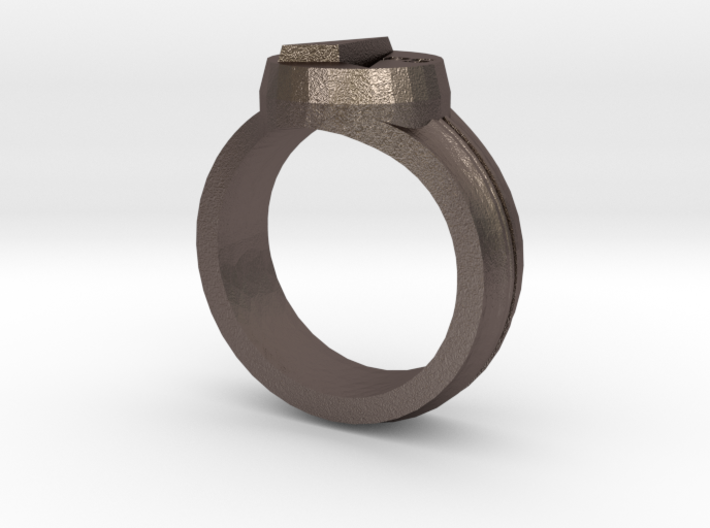 MAPS Signet Ring 3d printed