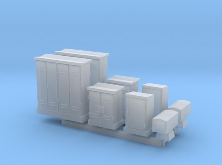 N Relaiskasten (8pc) 3d printed