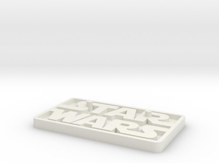 "Star Wars Black Series 6"" figure base (larger peg) 3d printed"
