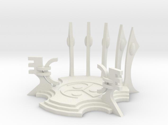 6mm Eldaritch Summoning Platform 3d printed