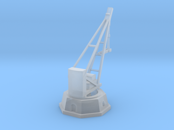 Armstrong Hydraulic Crane, Octogonal Base 3d printed