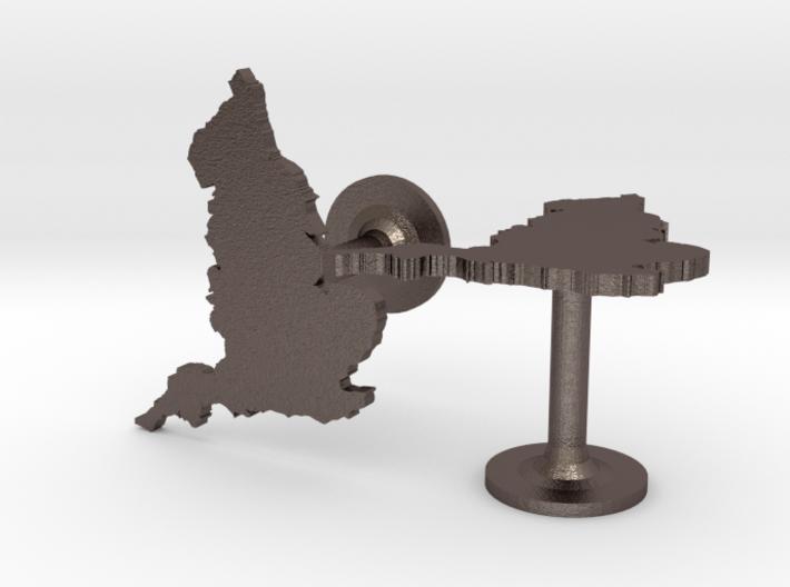 Great Britain Cufflinks 3d printed