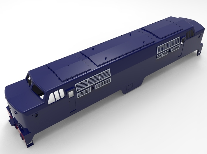 NS 1200, spoor 1,  scale 1:32 3d printed this render is not exact the model