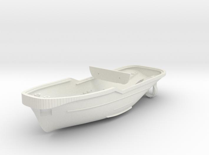 Harbor Tug Hull V40 1:87 3d printed