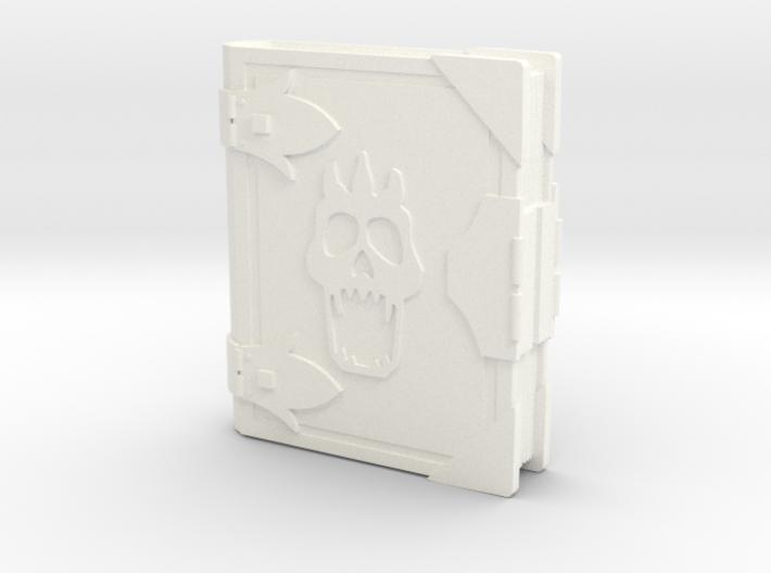 Book G-skull 3d printed
