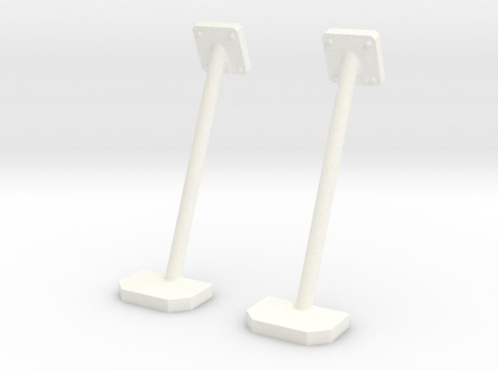 1.7 SIDE STEPS PLAT HUGHES 500 3d printed