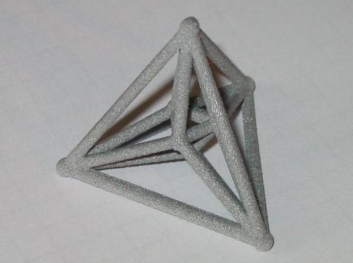 16-cell 3d printed Alumide 16-cell