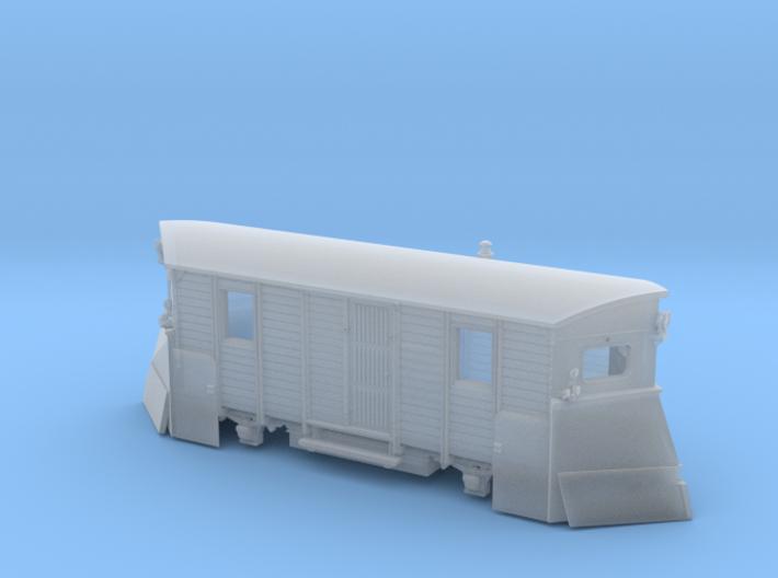 Schmalspur Schneepflug Spur Nm 3d printed