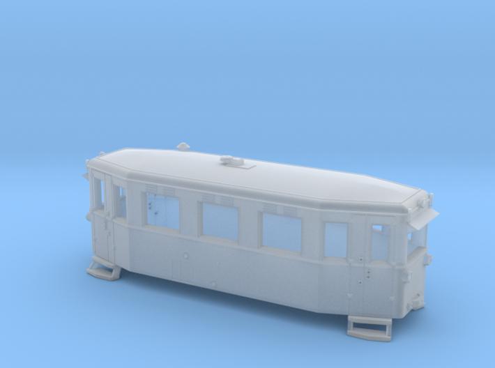 Schmalspurtriebwagen T1 der HSB (1:160) 3d printed