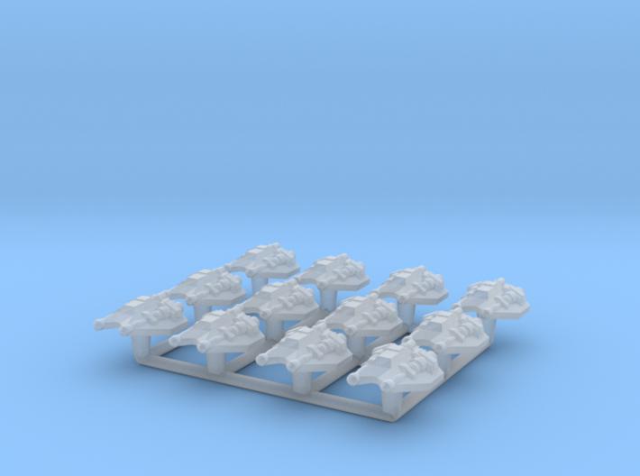 (Armada) 12x Snowspeeder 3d printed