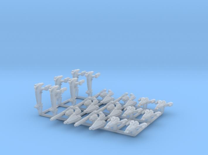 (Armada) KOTOR Fighter Set I 3d printed