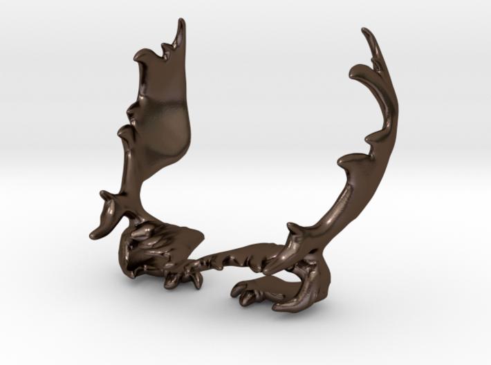 Moose Antler Clips 3d printed