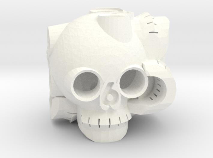 Skull D6 3d printed