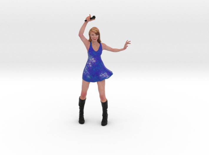 Taylor Swift 3D Model ready for 3d print 3d printed