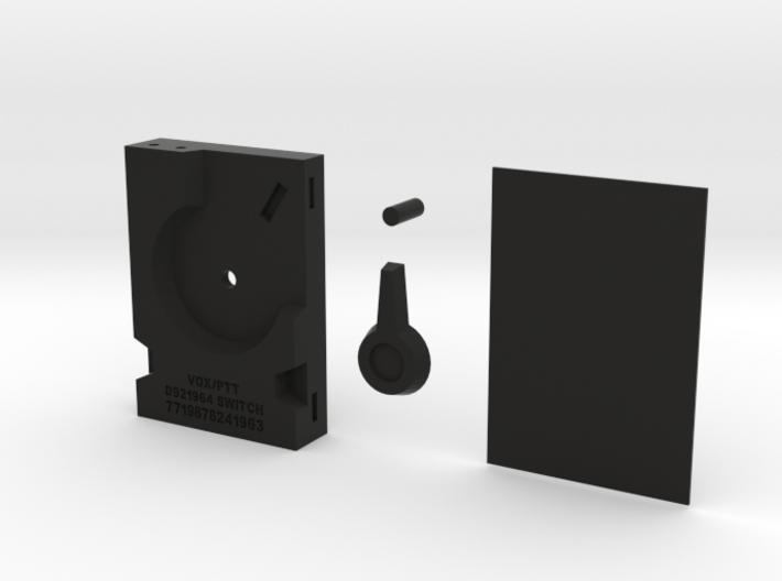 VOX BOX MGS3 Cosplay Prop 3d printed