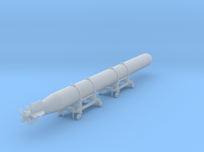 1/32 IJN Type 93 LONG LANGE TORPEDO 3d printed