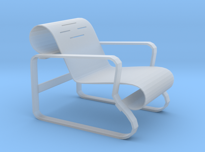 1/12 Beach Chair 3d printed