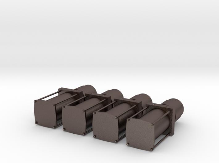 4 Pumps 1/24 1/25 lowrider 3d printed