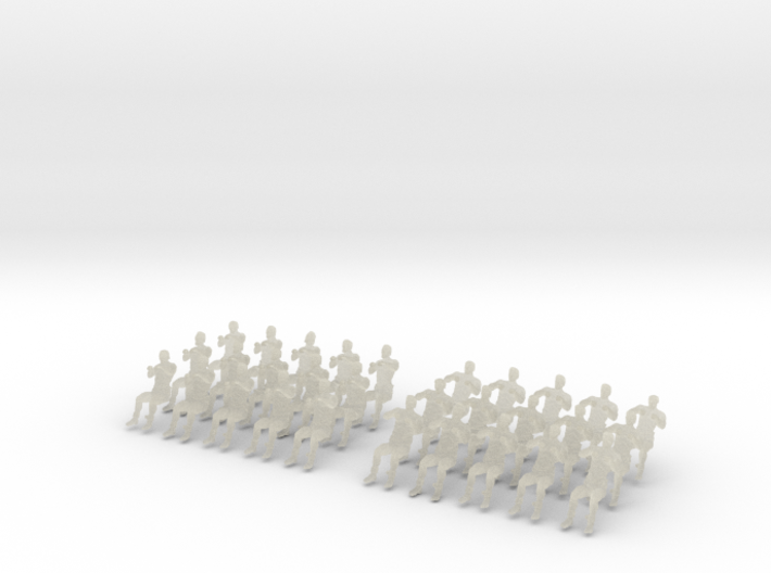 1-160 Galley Rower-Drive-Set 1 3d printed