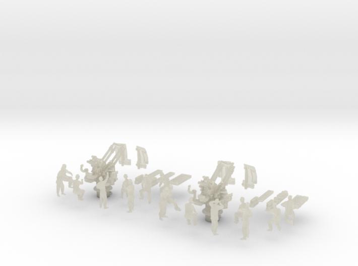 1-125 Flakvierling 38 Set 1 3d printed