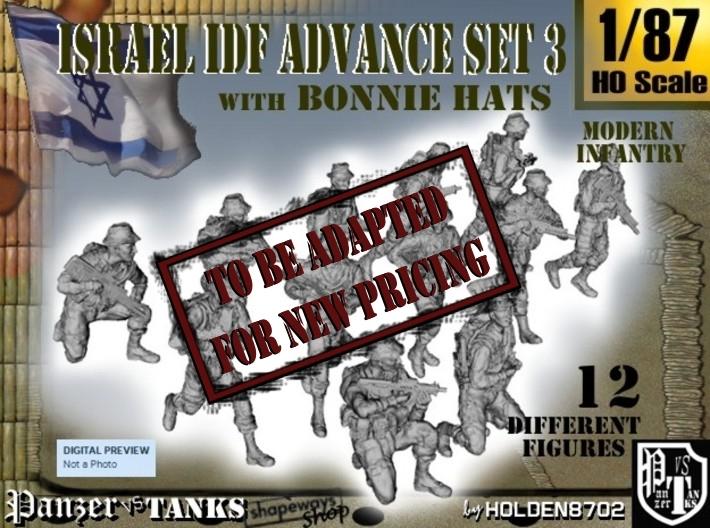 1-87 IDF BONNIE ADVANCE SET 3 3d printed