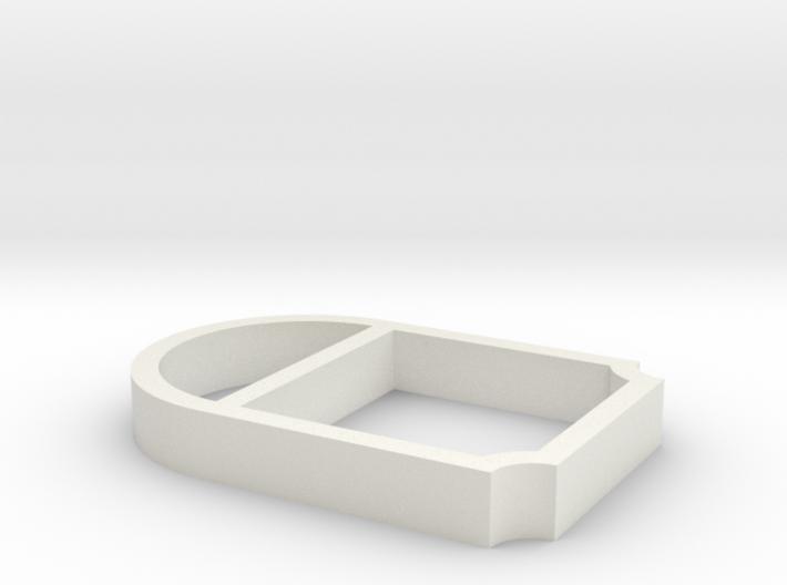 Parkhecke oval verstrebt Ecken eingerückt (Buchsba 3d printed