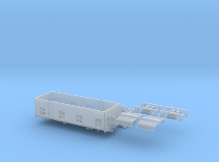 CNJ 1000 For Bachmann 44 Ton Switcher Frame 3d printed