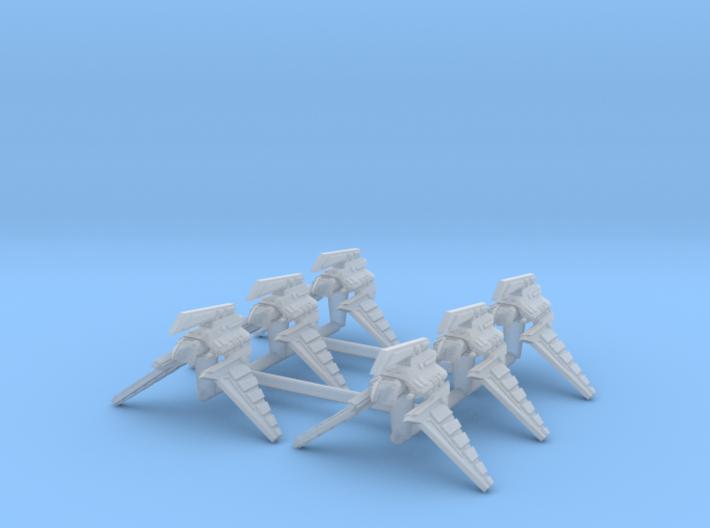 (Armada) 6x Theta Shuttle 3d printed