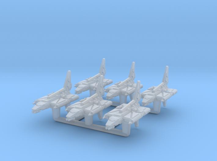 (Armada) 6x YE-4 Gunship 3d printed