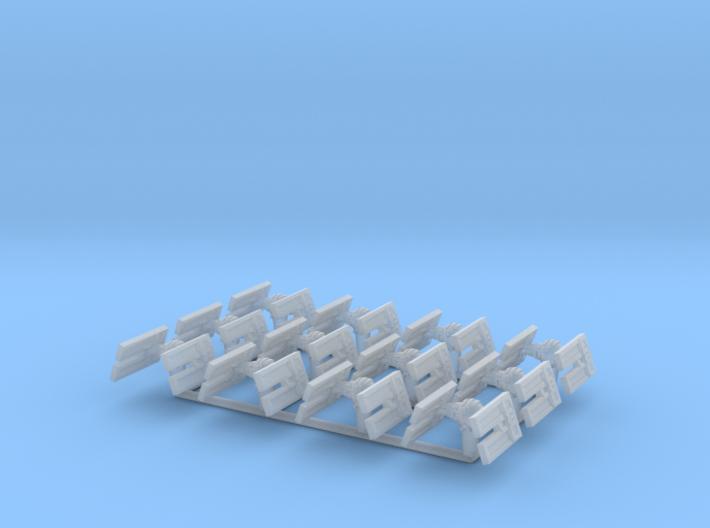 (Armada) 12x TIE Droid 3d printed